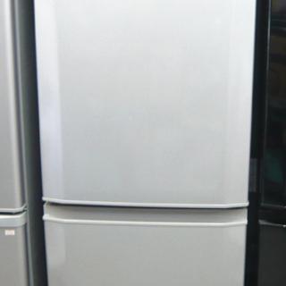 札幌 2016年製 146L 2ドア冷蔵庫 三菱 ミツビシ MI...