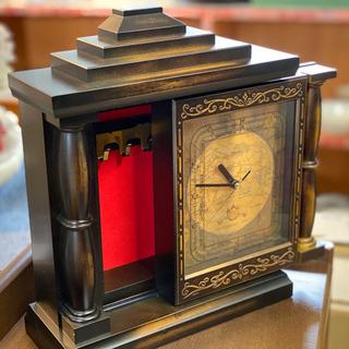 【訳あり】アクセサリー収納付き時計