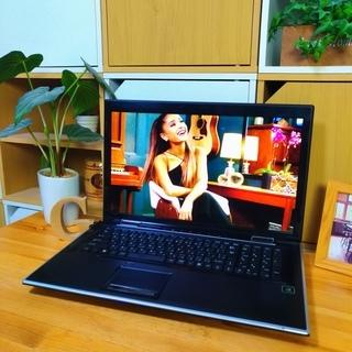 Corei7メモリ8Gの超高性能PC☆ 4コア8スレッド! 17インチ特大液晶♪ 最新Windows10 64Bit☆  上質なモダンブラックでかっこいい★ 高音質! ゲーミングPCB Prime ドスパラ 大容量500G Wi-Fi無線LAN DVDドライブ テンキー&ウェブカメラ搭載  - 福岡市
