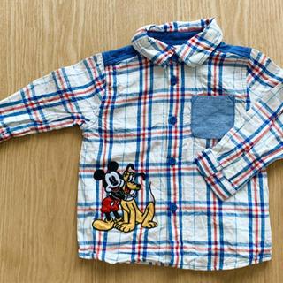 90 ミッキー シャツ ワイシャツ ディズニー