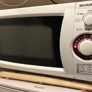 SHARPの電子レンジ
