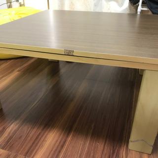 【貰ってください!本体無料、郵送対応】コタツテーブル 正方形70cmの画像