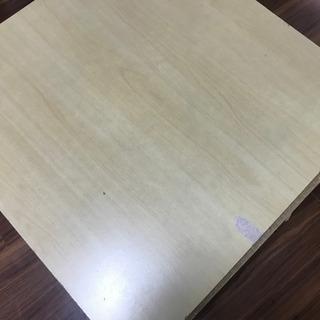 【貰ってください!本体無料、郵送対応】コタツテーブル 正方形70cm - 家電