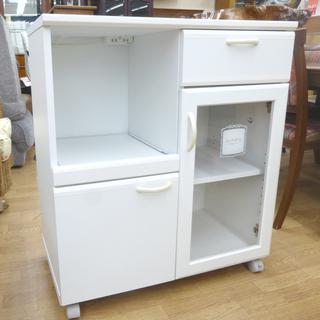 ミドルレンジボード 食器棚 幅74×奥41×高84cm キッチン...