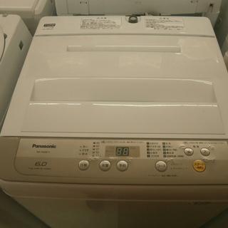 ,【引取限定】パナソニック 洗濯機 6.0kg NA-F60B1...