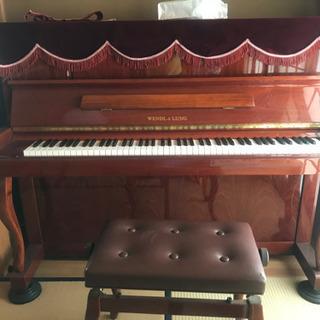 ピアノwendl&lung美品