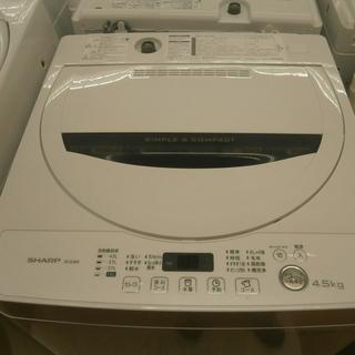,【引取限定】シャープ 洗濯機 4.5kg ES-G4E3 20...