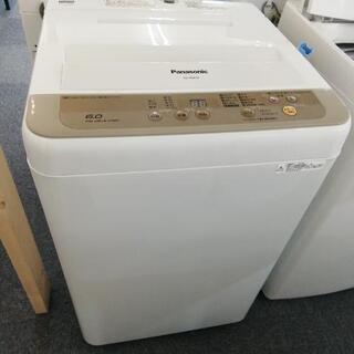 1305 Panasonic 6kg 洗濯機 2017年