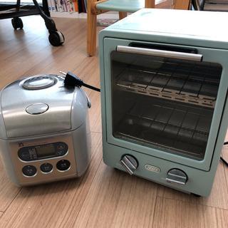 炊飯器、トースター