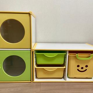 おもちゃ収納★カラーボックス