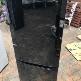 2018年 三菱冷蔵庫 146L LED照明 美品 黒