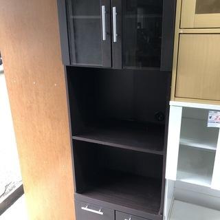【リサイクルショップどりーむ天保山店】1299 食器棚 ブラウン...