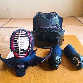 剣道の防具 2年使用