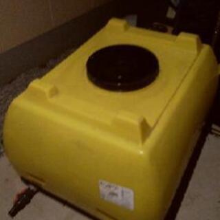 500リットル 雨水 貯水 タンク
