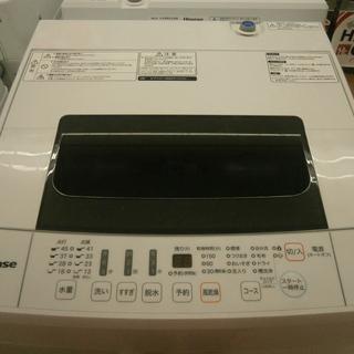 ,【引取限定】ハイセンス 洗濯機 4.5kg HW-T45C 2...