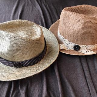 麦わら帽子 セット