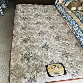 日本ベッドのベッド(マットレス付き)