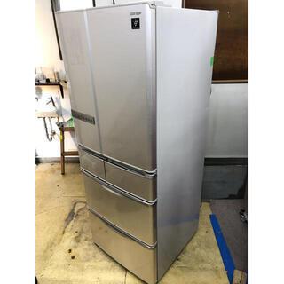 【🐢最大90日補償】SHARP 6ドア冷凍冷蔵庫 SJ-XF44...