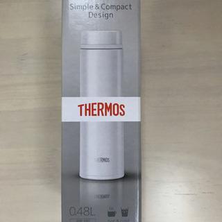 新品未使用 サーモス 真空断熱ケータイマグ パールホワイト…