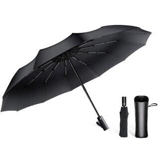 折りたたみ傘 頑丈な12本骨 自動開閉 超撥水 晴雨兼用