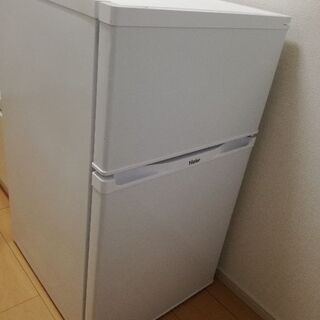 値下げ!☆中古美品☆2015年製ハイアール91L冷蔵庫