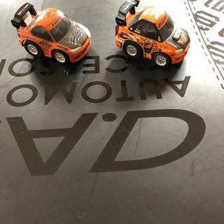 D1 グランプリチョロQ2台  チームオレンジ