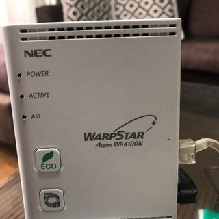値下げします。これが最後です。wifi無線LANルーター NEC...