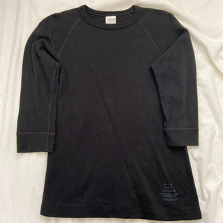 COOTIE/七分 カットソー ロンT/S ブラック