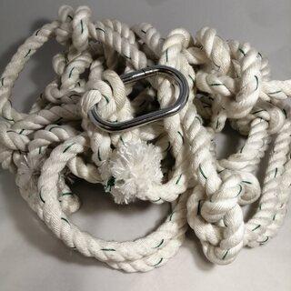 防災用避難ロープ