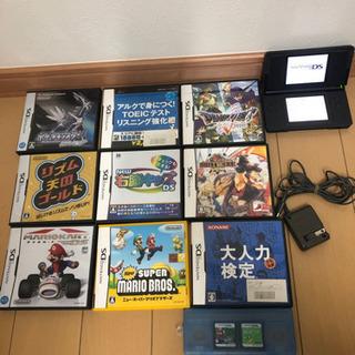 【値下げ】任天堂DS 本体 ソフト11個 セット