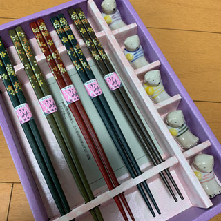 【新品】箸と箸置きのセット