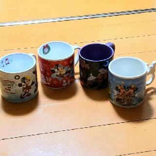 ディズニー記念マグカップ4種