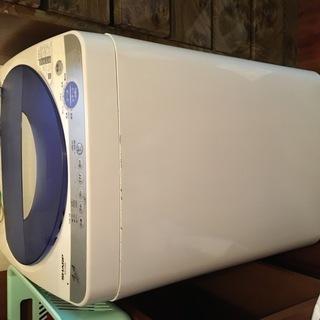 シャープ ES-F445-A 2005年製 4.4kgの洗濯機 ...