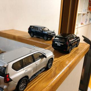 新型ランドクルーザープラド150後期 ミニカー 車