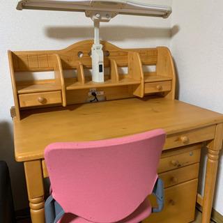 勉強机 椅子付き