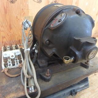 三菱電機 反発起動単相電動機 SI-6型 1/2馬力 動作確認済...