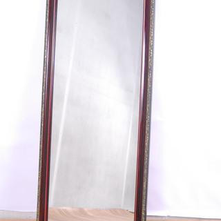 2548 鏡 姿見 壁掛け アンティーク ウォールミラー 115...