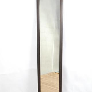 2550 鏡 姿見 全身鏡 木製フレーム 壁掛け/立て掛け両用 ...