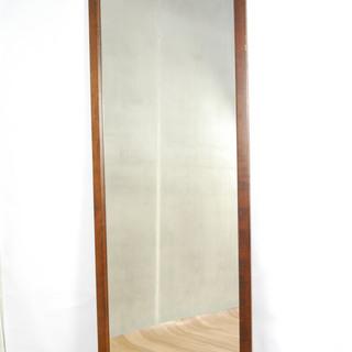 2552 鏡 全身鏡 姿見 木製フレーム 壁掛け 179 x 6...