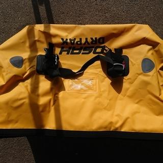 ツーリングシートバッグ 防水 40Lイエロー