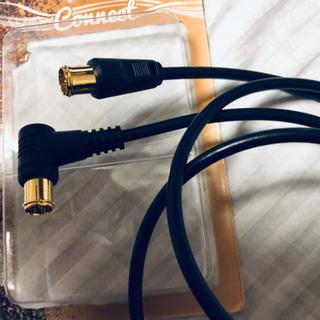 テレビアンテナ接続ケーブル 1.0m