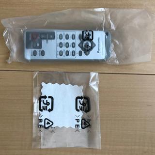 リモコン パナ製 DVDビデオカメラ用(N2QAE000022)