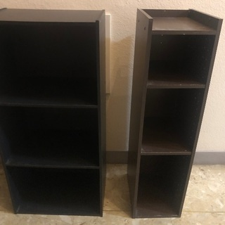 3段ボックス/本棚セット