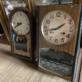 【引取限定】掛時計 各種 セイコー
