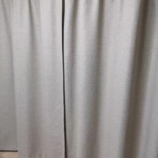 無印良品 カーテン ベージュ 100×178 2枚