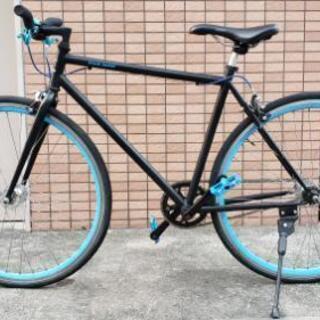 ECOLIFE クロスバイク 700C 自転車 シングルスピード