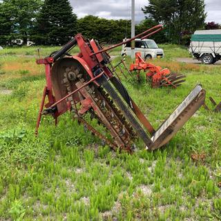 長いも 長芋 掘る機械 トレンチャー 収穫機械 中古品