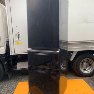 動作良好の冷蔵庫 370L ミツビシ ブラック お届け可能