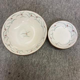 洋風大皿と取り分け用小皿5枚セット 未使用品
