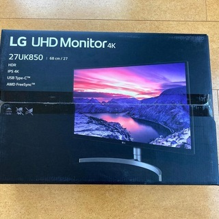 LG 4K IPSモニタ 27インチ USB-C対応 27UK850